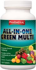 ALL-IN-ONE Green Multi-vitamin komplex tabletta 120 db Pharmekal
